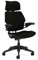 Freedomchair Headrest, svart Cava