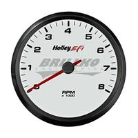 3-3/8 TACHOMETER, 0-8K RPM, CAN, WHITE