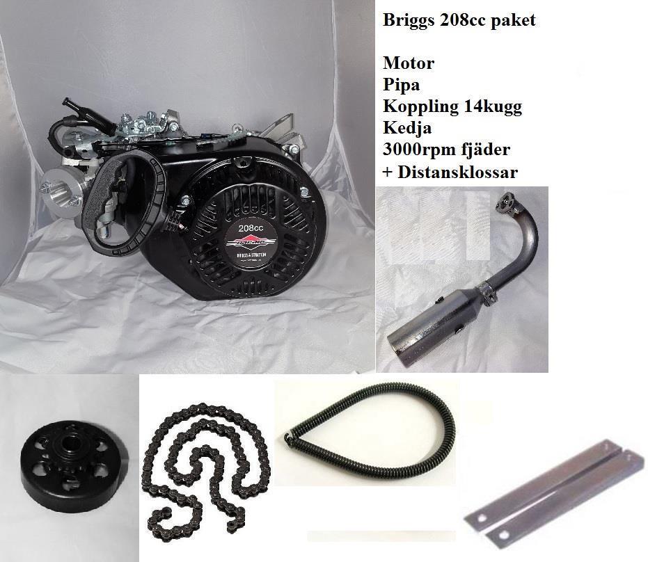 BRIGGS 208CC PAKET