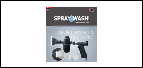 Spraywash Brosjyre
