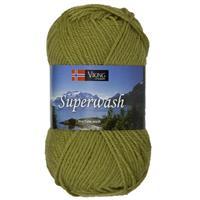 Viking Superwash mossgrön