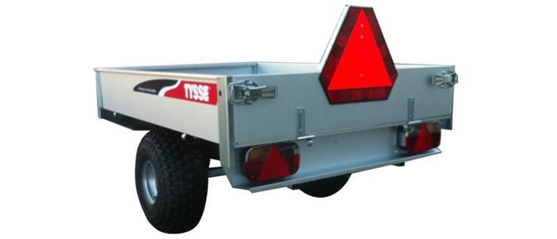 TYSSE Tilhenger 6013 Traktor registrert