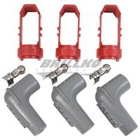 3 Cyl Spark Plug Boot Retainer Kit