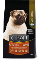 Cibau Sensitive Lamb MINI 0,8 kg (minirae)