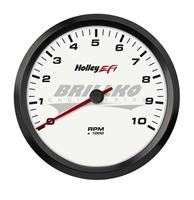 4-1/2 TACHOMETER, 0-10K RPM, CAN, WHITE