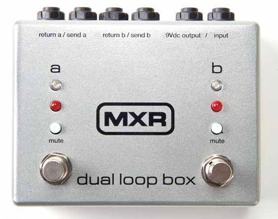 MXR Dual Loop Box for Guitar Effects