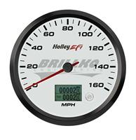 4-1/2 SPEEDOMETER, 0-160 MPH, CAN, WHITE