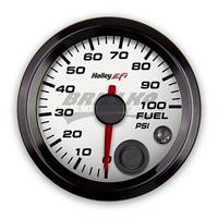 2-1/16 FUEL PRESSURE GAUGE, 0-100PSI, CA