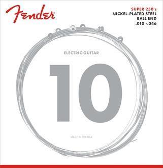 Fender Super 250's Nickel-Plated Steel 010 - 046