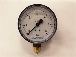 Manometer 0- 6 Bar RF 63,D210
