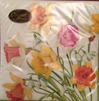 Serviett middag Daffodil walts 3 lags 20stk