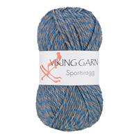 Viking Sportsragg  grå blå