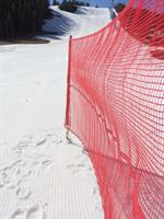 TEX-FENCE SNABBNÄT 15 m 7 käppar Röd