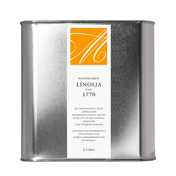 Linolja Anno 1770; 2,5 liter