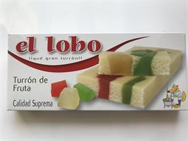 Tu El Lobo Turron Frukt  200gr