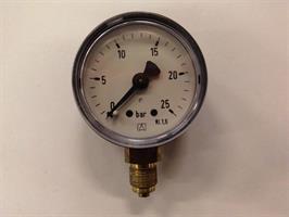 Manometer 0-25 Bar 40 mm 1/8