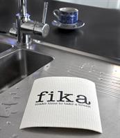Disktrasa, Make time Fika, vit/svart text