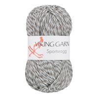 Viking Sportsragg grå ljusblå