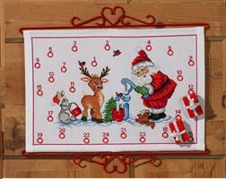 Julkalender Nisse vid vattenpost