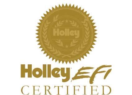 Holley EFI Certified och Holley brands