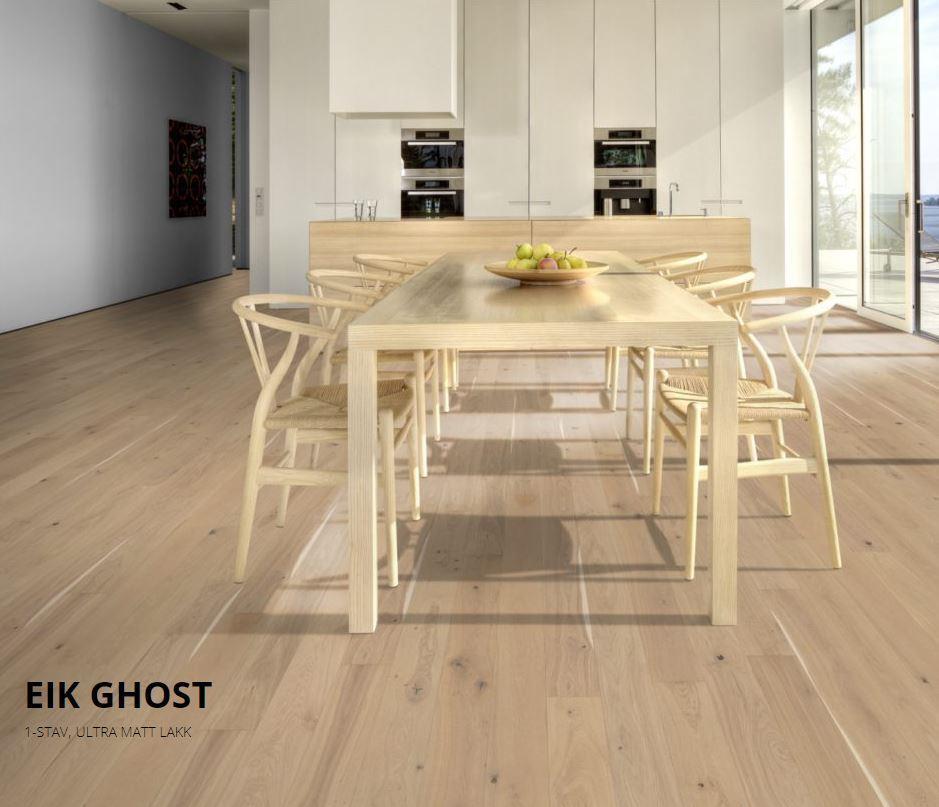 Kährs Eik Ghost Ultramatt Lux Collection