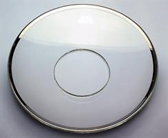 Glassmansjett med sølvkant, medium 7cm