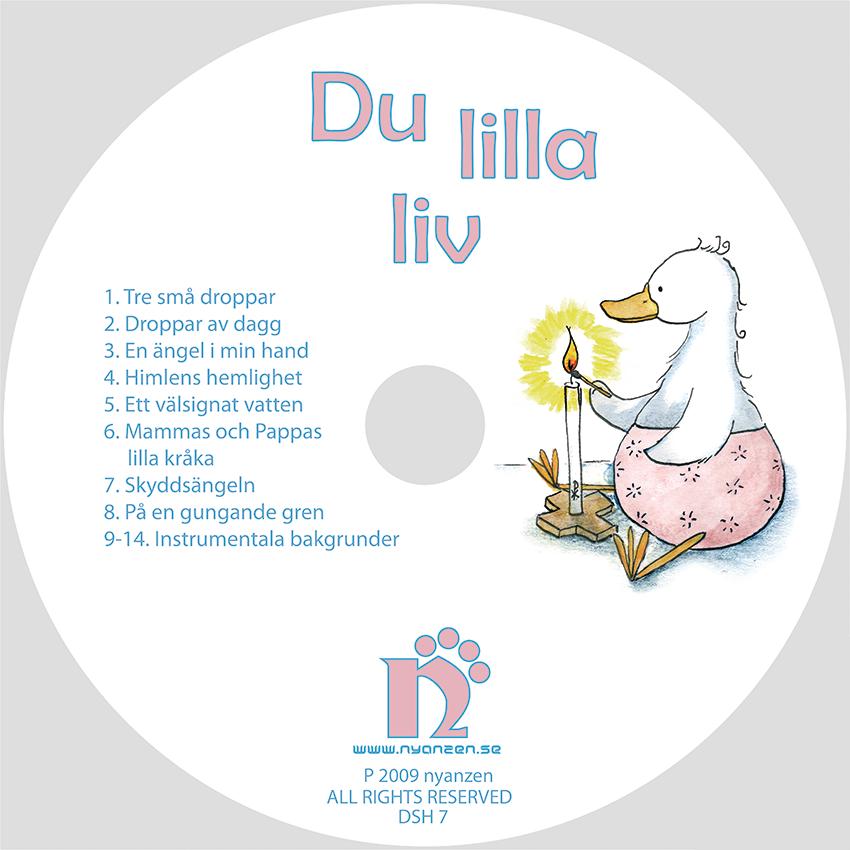 Du lilla liv CD/Digital musik