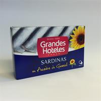 GH Sardiner i Veg.olja 125gr