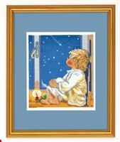 Pojk tittar på stjärnor