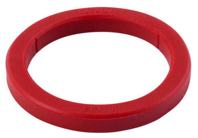 Brygghuspackning 73x57x8mm silikon E61 röd
