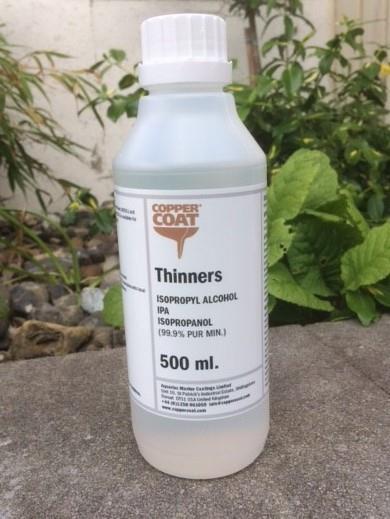 Isopropanol Tynner - 0,5 liter