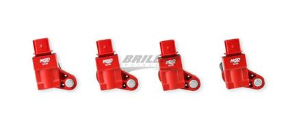 Coil, 13-18 GM 2.0L Turbo, 4Pk, Red