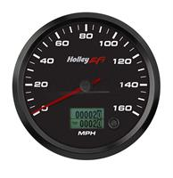4-1/2 SPEEDOMETER, 0-160 MPH, CAN, BLACK