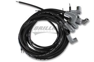 Wire Set,SC,Black,8Cyl,90/90 Boots, Univ
