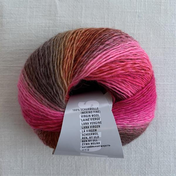 "Knallrosa/rostbrun ""Bred"" Mille colori"