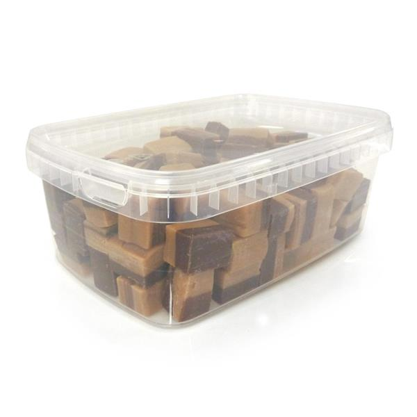 Vanilj/Chokladfudge box 600g