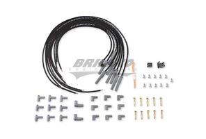 Wire Set, Black, Universal 8 cyl. M/A