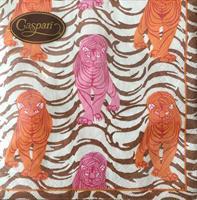 Lunsjservietter Tiger stripe, 3 lags 20stk