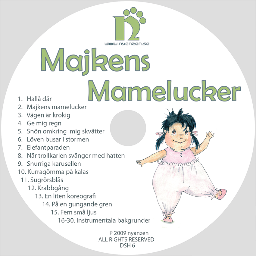 Majkens Mamelucker CD/Digital musik