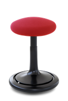 ONGO Svart, med röd sits,