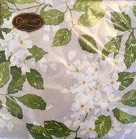 MIddag serviett Blanc grey ivory 3 lag 20stk