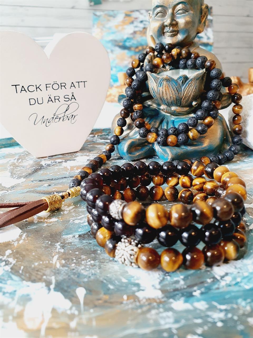 108 Mala -meditation ,protection and good luck