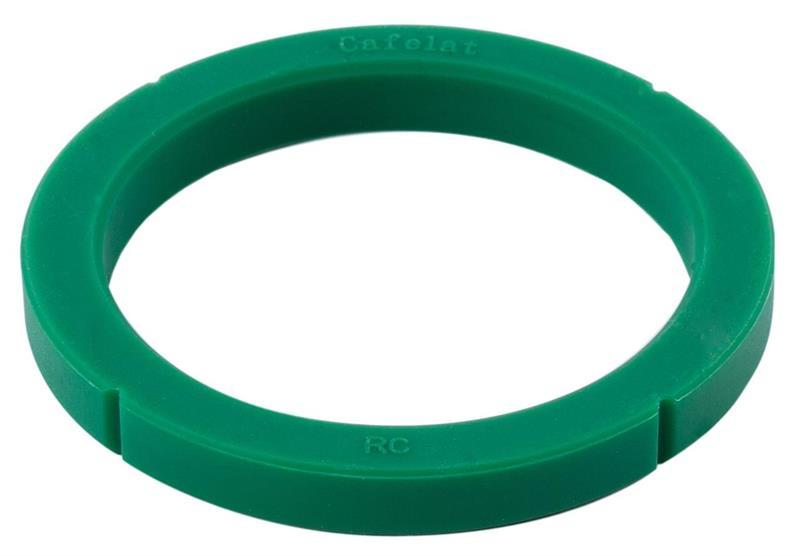 Brygghuspackning 78x58x8,4mm Rancilio silikon grön