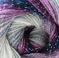 Silver Soft Blå lila grå