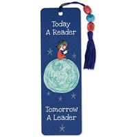 Beaded Bookmark Today a Reader Tomorrow a Leader
