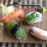 Sushi assiett