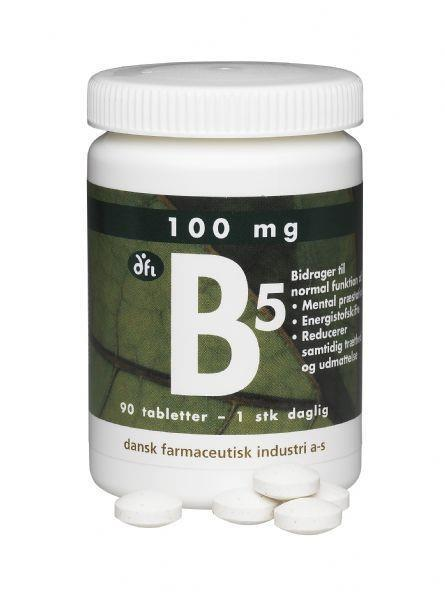 Vitamin B5  90 tabl