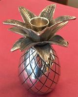Lysestake ananas stål 15cm