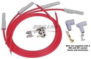 Wire Set, SC 4Cyl MulAng Plug, Sockt/HEI