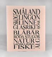 Disktrasa, Småland, rosa/svart text